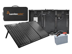 Samlex MSK-90 Portable Solar Charging Kit