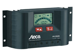 Steca PR2020 12/24V, 20A Solar Charge Controller