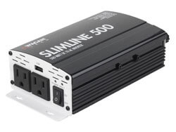 Wagan 3716 Slim Line 500W Power Inverter